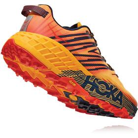 Hoka One One Speedgoat 4 Zapatillas Hombre, gold fusion/black iris